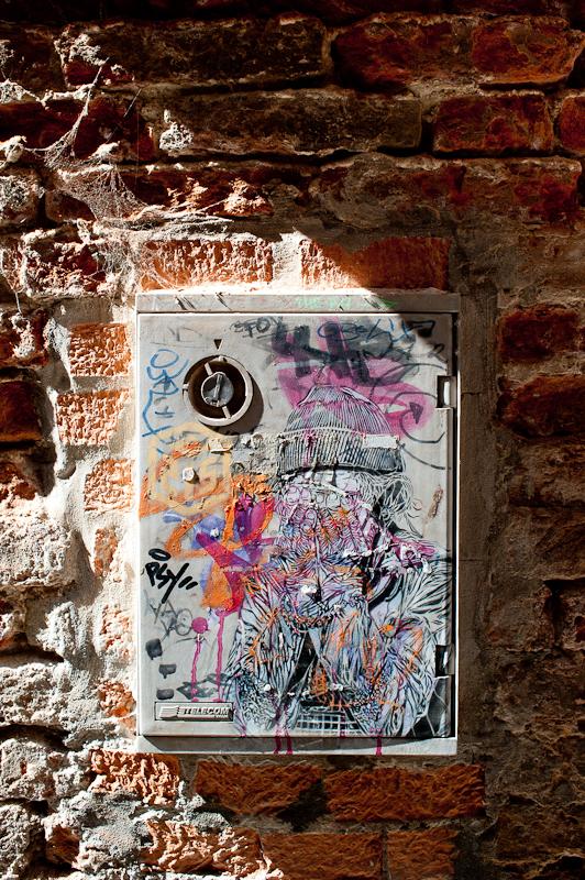 C215 StreetArt à Venise