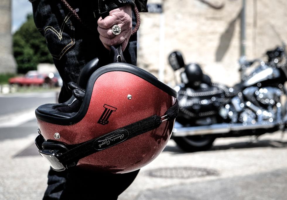 Harley-Davidson et bikers