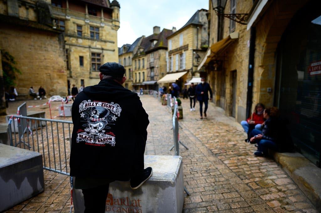 Centre-ville de Sarlzt la Canéda en Dordogne