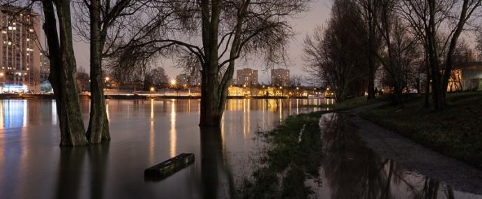 Crue de la Seine à Vitry sur Seine – Janvier 2018