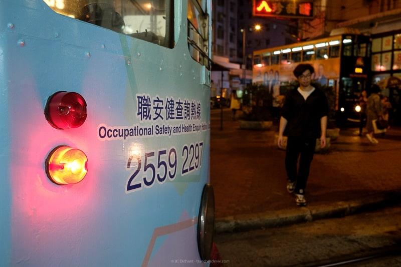 Dans les rues de Hong Kong