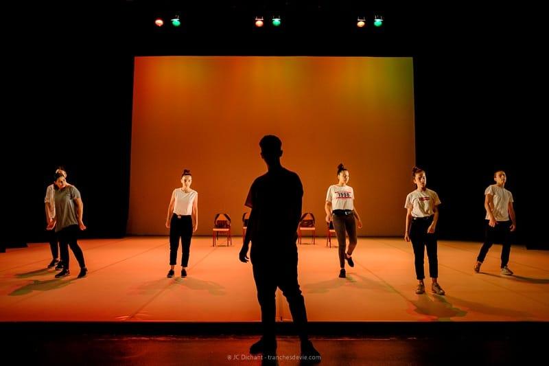 25/52</strong> - Allant vers et contretemps avec les danseurs des Ecoles Municipales Artistiques au Théâtre Jean Vilar de Vitry sur Seine