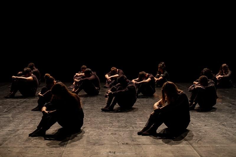 Première approche avec des secondes du lycée Chérioux de Vitry - ateliers Hip Hop