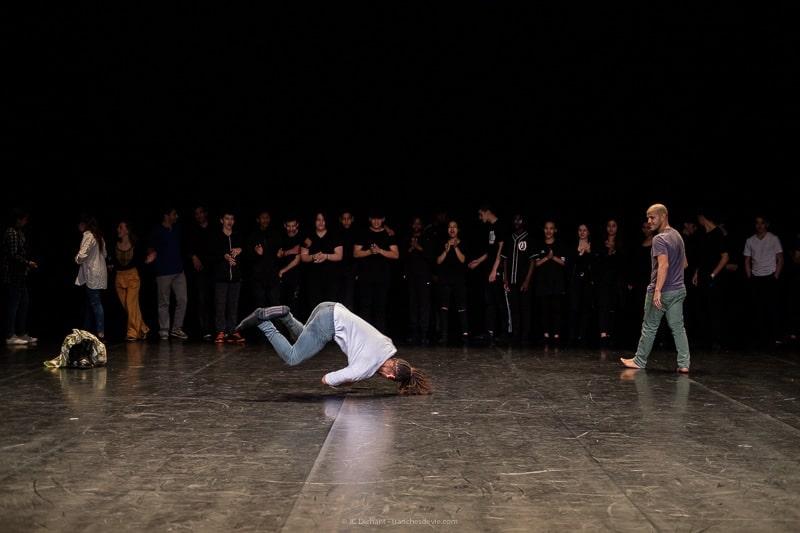 Danse Hip Hop au théâtre Jean Vilar de Vitry sur Seine par Jean-Christophe Dichant - ateliers Hip Hop