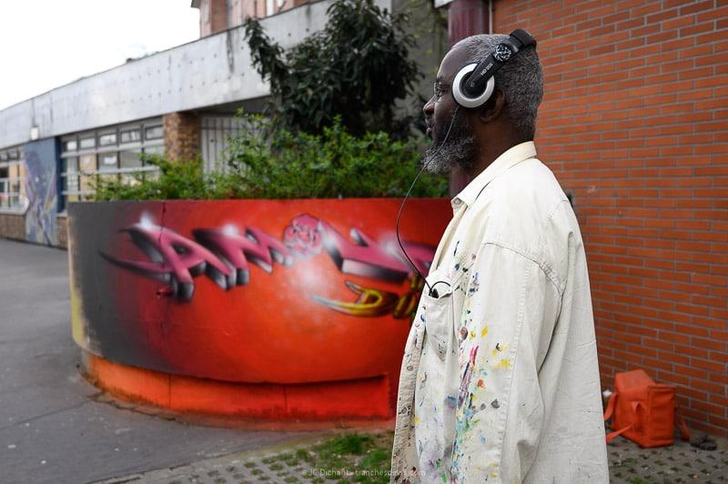 13/52– Les gens du streetart - Dark Amour, artiste à Vitry sur Seine