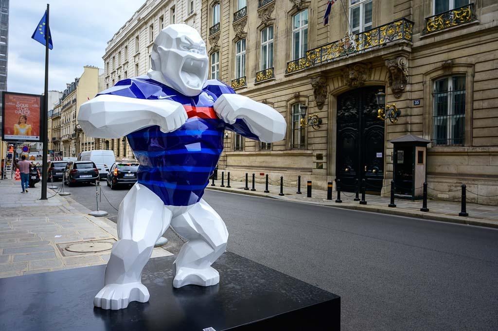 Mascotte de l'Euro 2021 à paris - 26/52 - Pester ! - Paris (75)