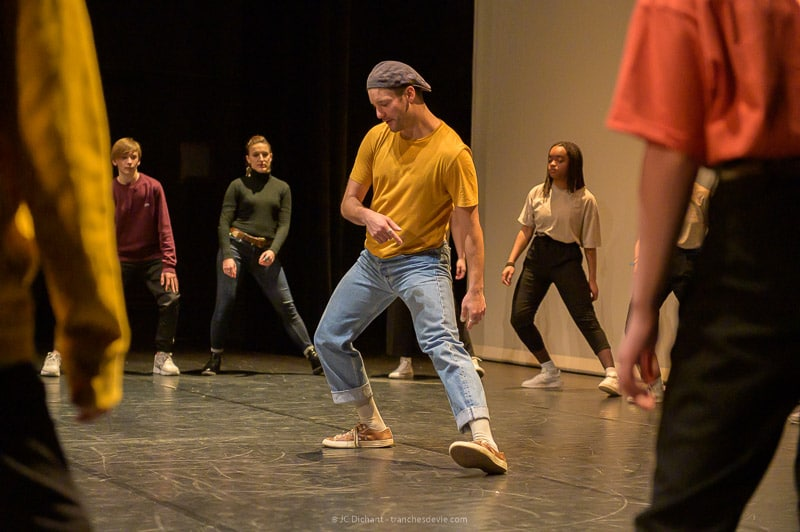 Masterclass Hip Hop lors de la Semaine de la Danse 2020 aux EMA de Vitry sur Seine