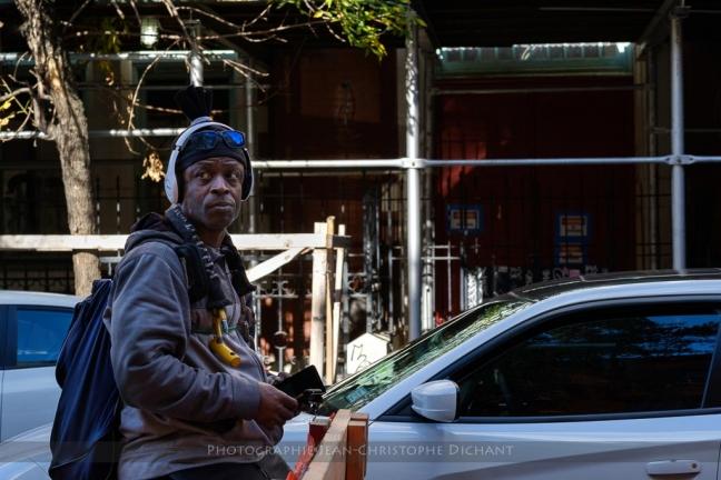 Portrait de rue à New-York - Automne 2017 - Photo (C) Jean-Christophe Dichant
