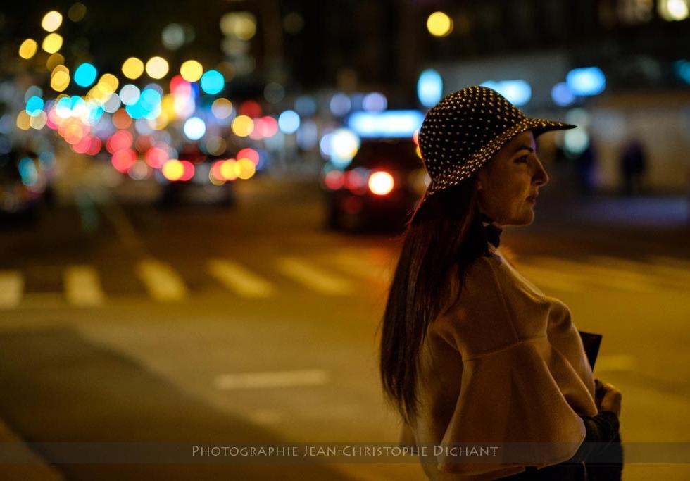Portrait de rue à New-York