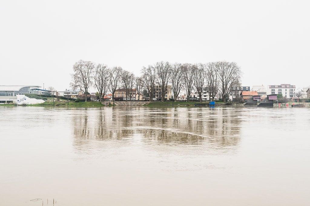06/52 - Ceci n'est pas la nature - Vitry sur Seine / Alfortville - la Seine en crue en 2021