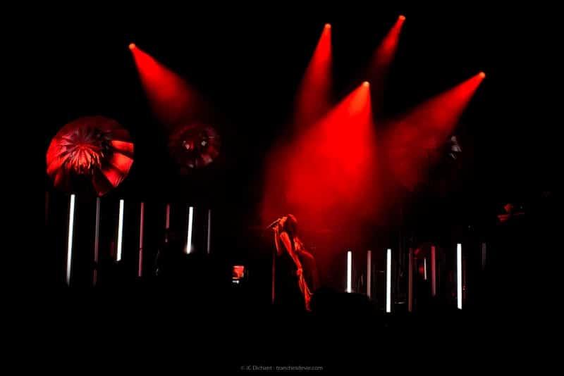 Shy'm en concert à Vitry sur Seine pour la Fête des Lilas 2018