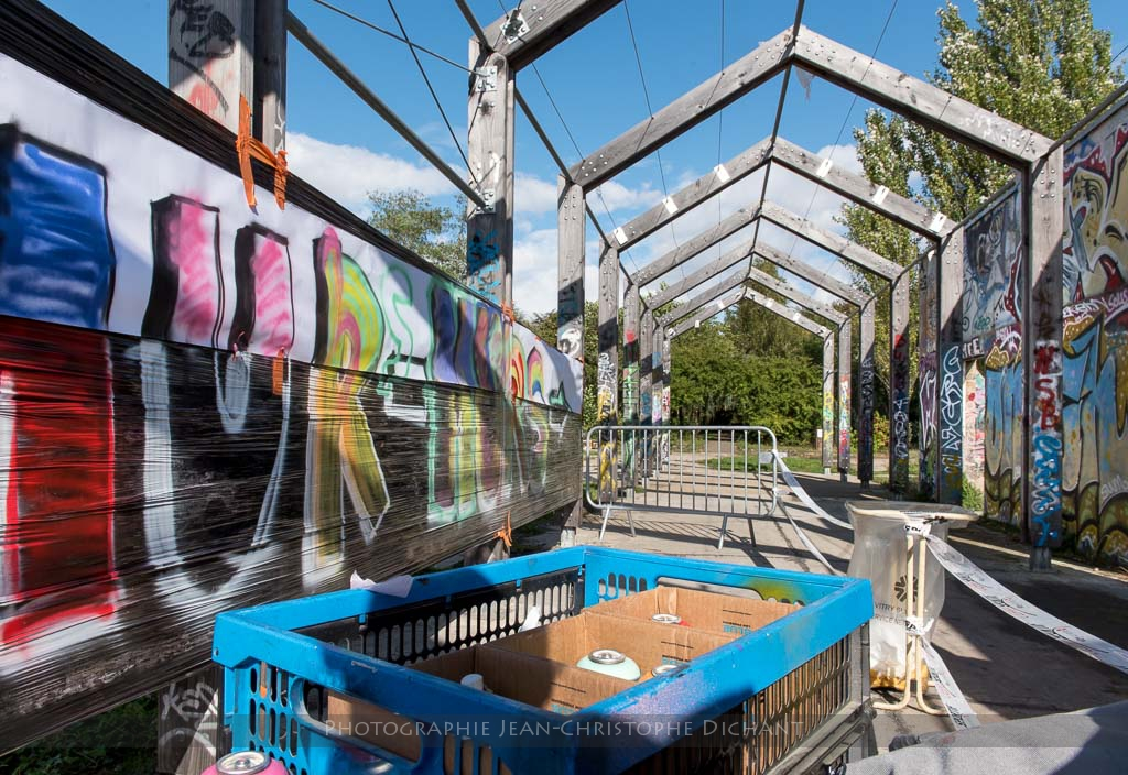 Skate Park de Vitry sur Seine - Festival Murmurs