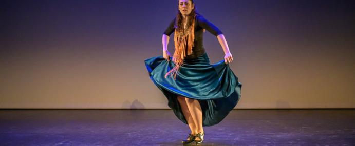 « Raconte-moi le Flamenco », solo de Pascale Pineda pour la Semaine de la Danse 2020 aux EMA de Vitry sur Seine