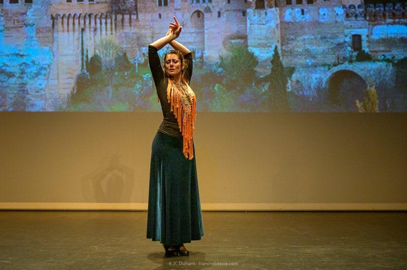 « Raconte-moi le Flamenco », solo de Pascale Pineda