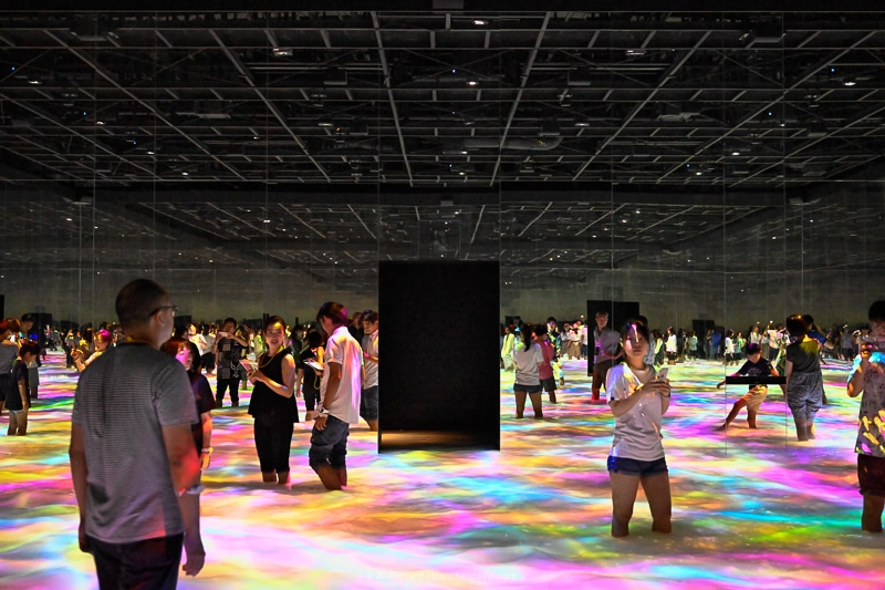 35/52 - TeamLab Experience à Tokyo - Japon