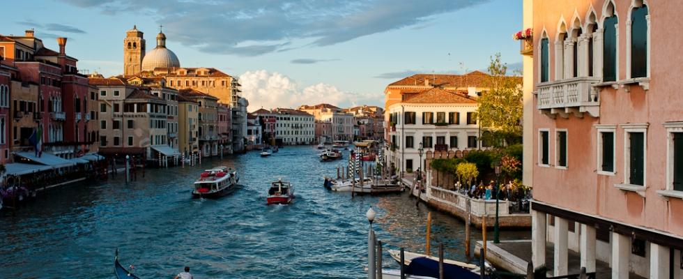 Venise – le grand canal